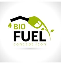 Bio Fuel Concept vector image