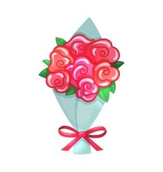 Cartoon of bouquet vector image