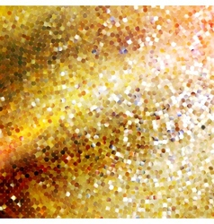 Template design on gold glittering EPS 10 vector image