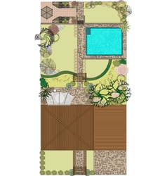 project landscaping vector image