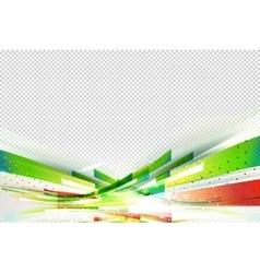 Gorizontal pink flow background vector image