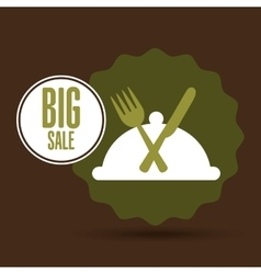 Big sale fresh food healthy vector