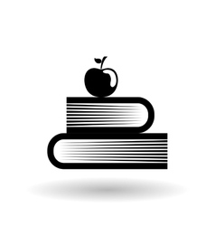 book editable icon vector image