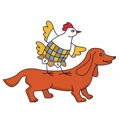 Chicken10 vector