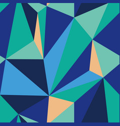 geometric pattern blue mint seamless repeating vector image