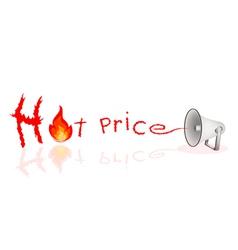 Megaphone Shouting Word Hot Sale vector