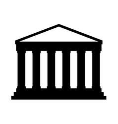 Pantheon italy landmark vector