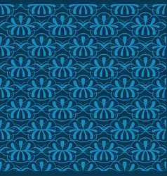 Seamless abstract pattern on wallpaper vector