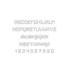 Square font vector