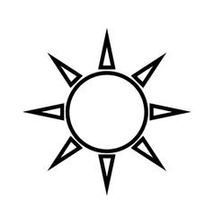 Sun shine bright vector