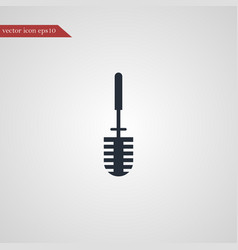 Toilet brush icon simple vector