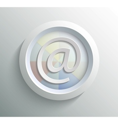 Icon mail vector image vector image