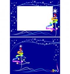 new year raindow vector image vector image