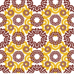 seamless wallpaper Motley retro repeating pattern vector image vector image