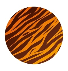 Animal print style background vector