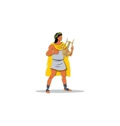 apollo sign mythological greek guardian god vector image