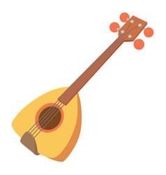 arabic guitar icon cartoon style vector image