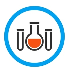 Chemical Vessels Rounded Icon vector