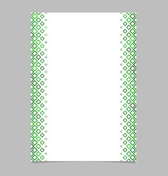 Diagonal square pattern page template - graphic vector