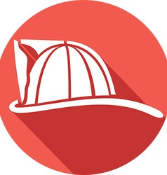 Firefighter Helmet Icon vector