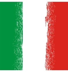 Flag of Italy Italian Pattern vector