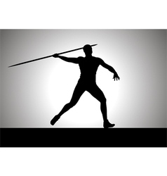 Javelin Thrower vector