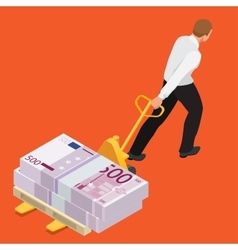 Student debt Debt Emotional Stress Finance vector image