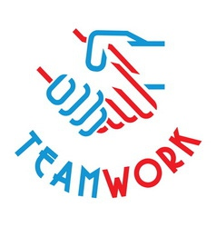 team work3 vector image