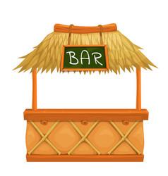 Tiki bar vector