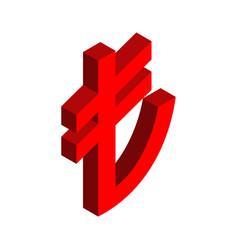turkish lira sign financial currency symbols vector image