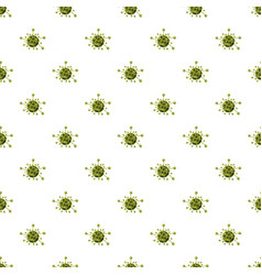 Virus cell pattern vector