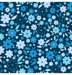 Ornate beauty flower seamless pattern Abstract vector image vector image
