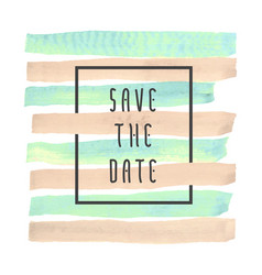 Save the date card backgriound vector