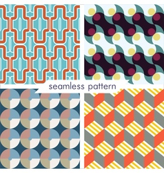 seamless pattern set 7 vector image