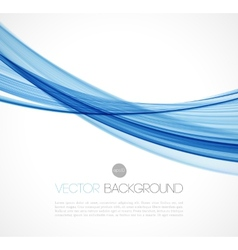 Abstract transparent fractal wave template vector