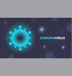 covid19-19 pandemic abstract background vector image