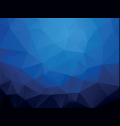 dark blue ocean geometric wallpaper background vector image
