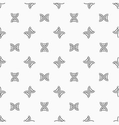 Deoxyribonucleic acid seamless pattern vector