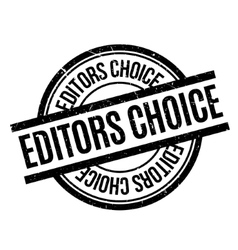 Editors Choice rubber stamp vector image
