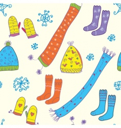 hats and socks vector image