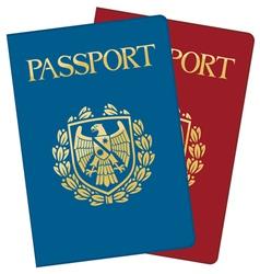 Passports vector