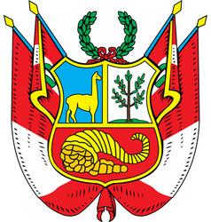Peru Coat-of-arms vector