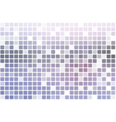 Pink grey occasional opacity mosaic over white vector