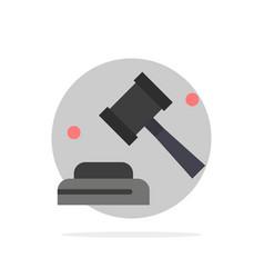 Politics law campaign vote abstract circle vector