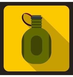 Watter bottle icon flat style vector