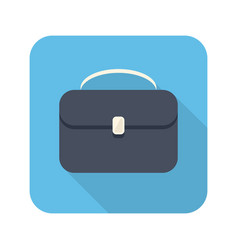 briefcase stylish icon vector image
