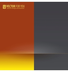 Contrast of colors background vector