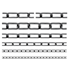 Iron chain background vector