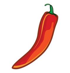 paprika vector image