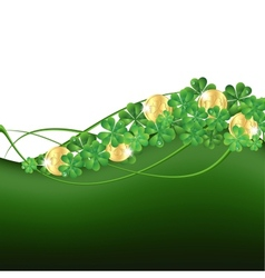 Patricks Day framePatricks Day card vector image